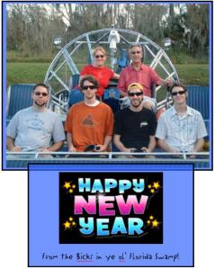 """This year, we called ourselves the """"Swamp Mafia"""" :-)"""