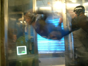 Adventure #3: five minutes in a simulated skydive