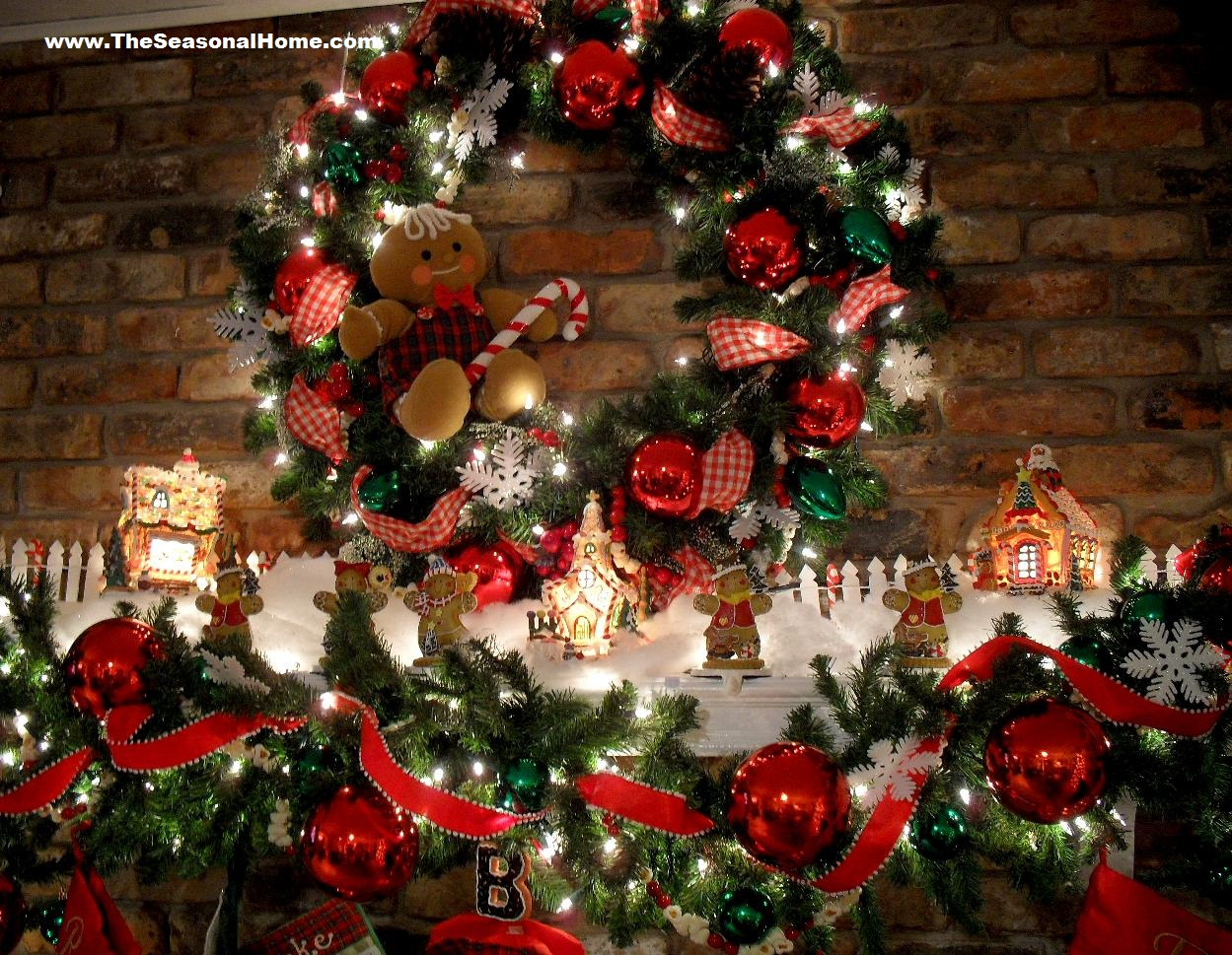 Christmas 2009 the seasonal home for 12 days of christmas decoration theme