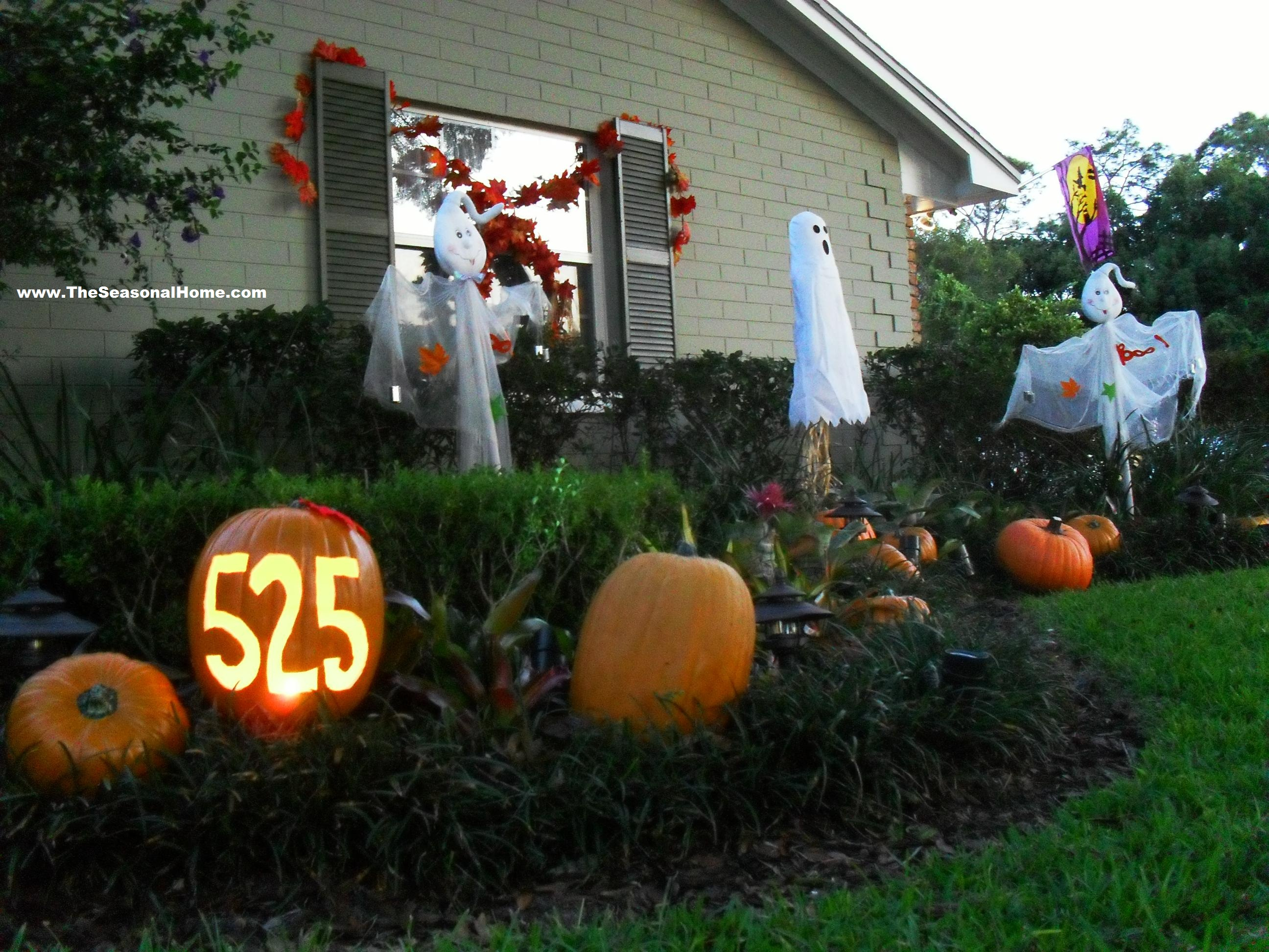 Halloween front garden ideas - P S
