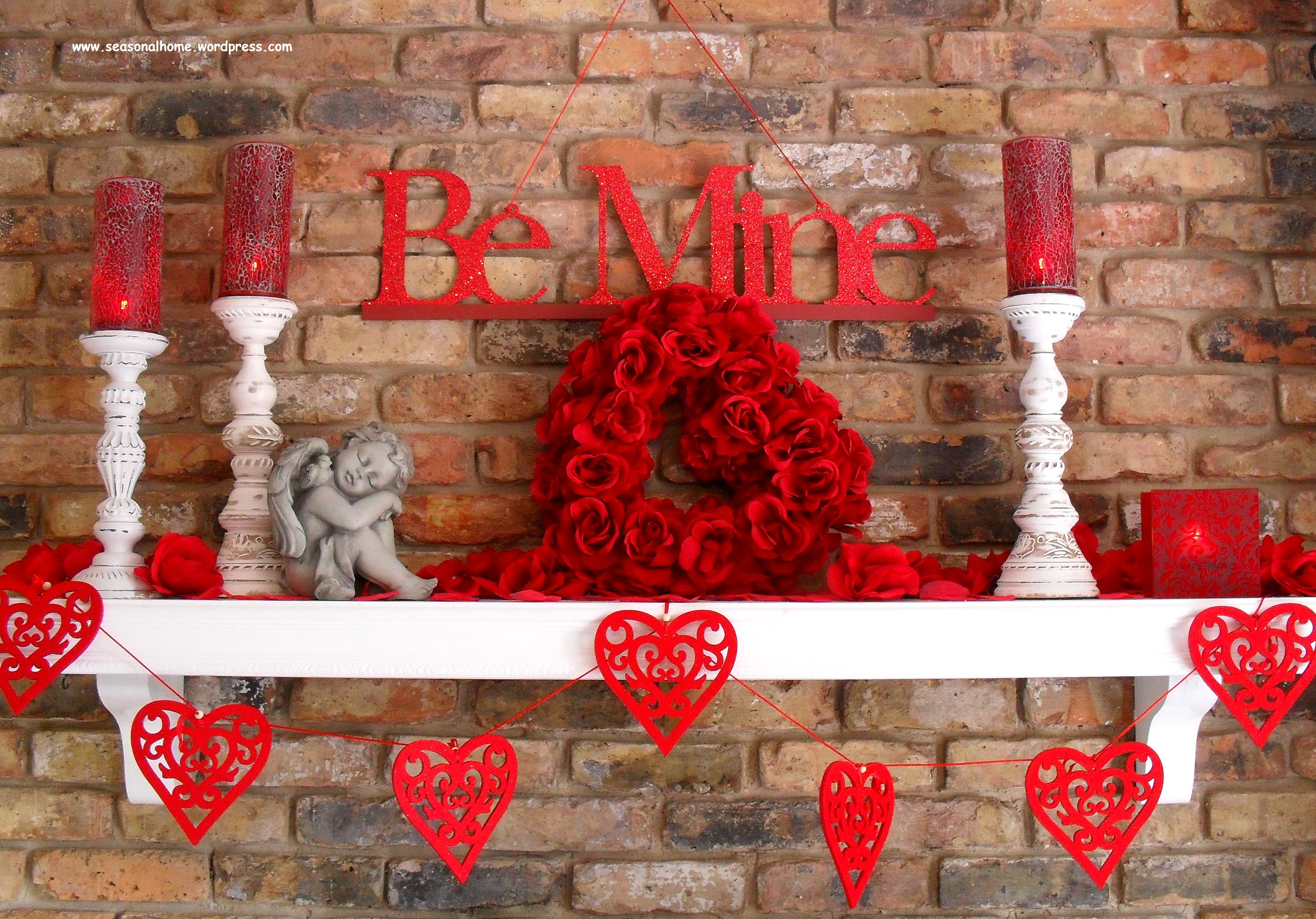 Inexpensive decorations for st valentine s day the for Home decorations for valentine s day