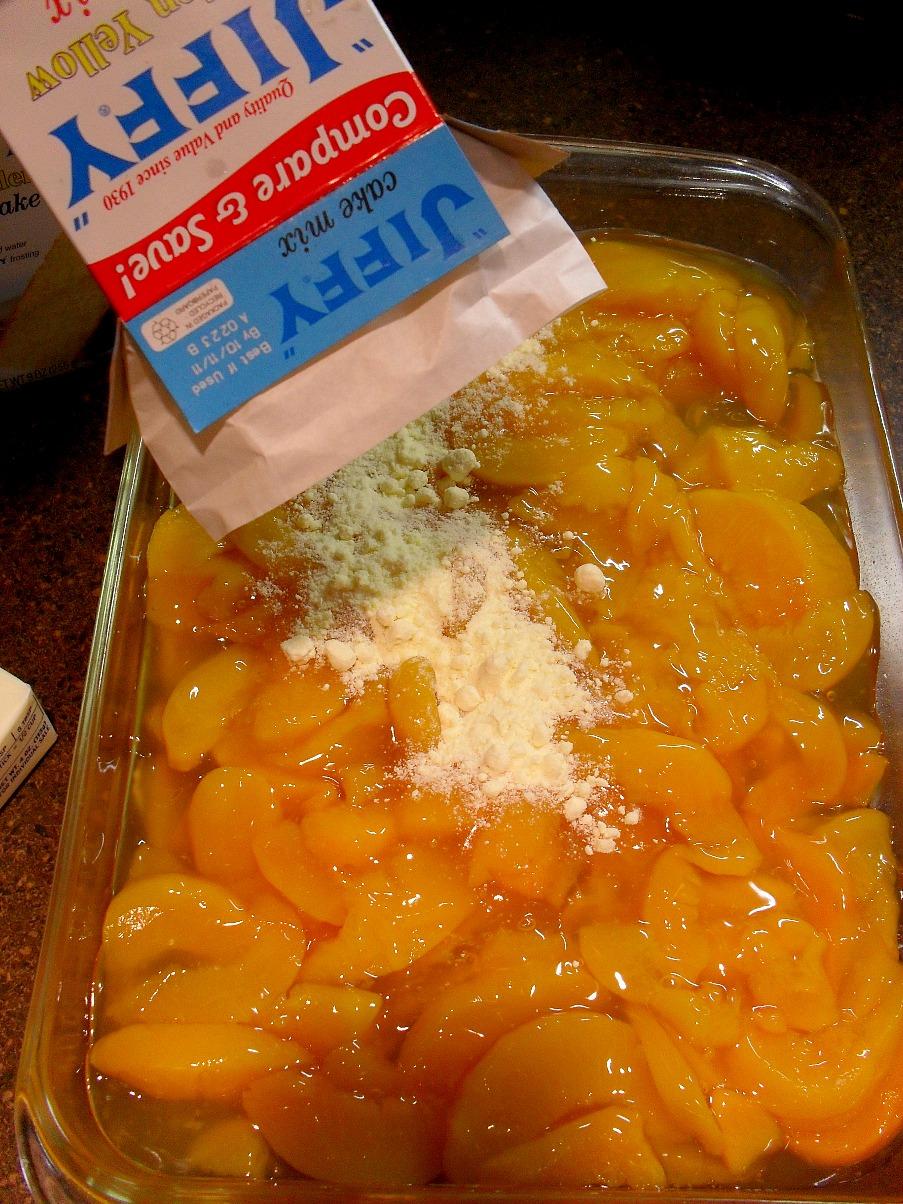 Jiffy Cake Mix Peach Cobbler Recipe