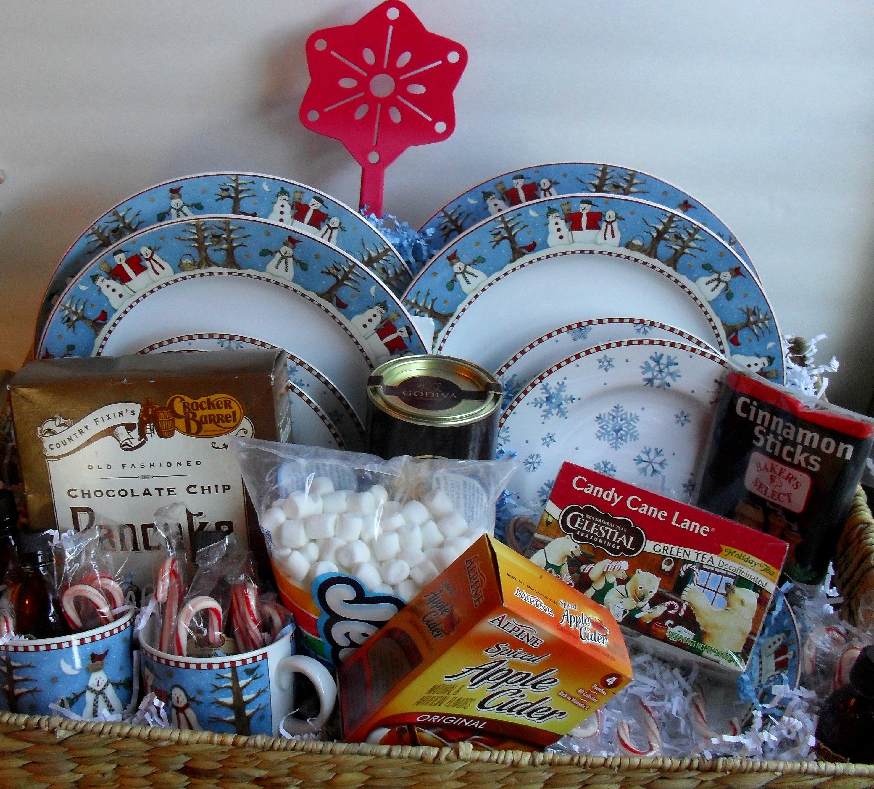 Gift Basket Ideas Christmas Morning - GotTeamDesigns