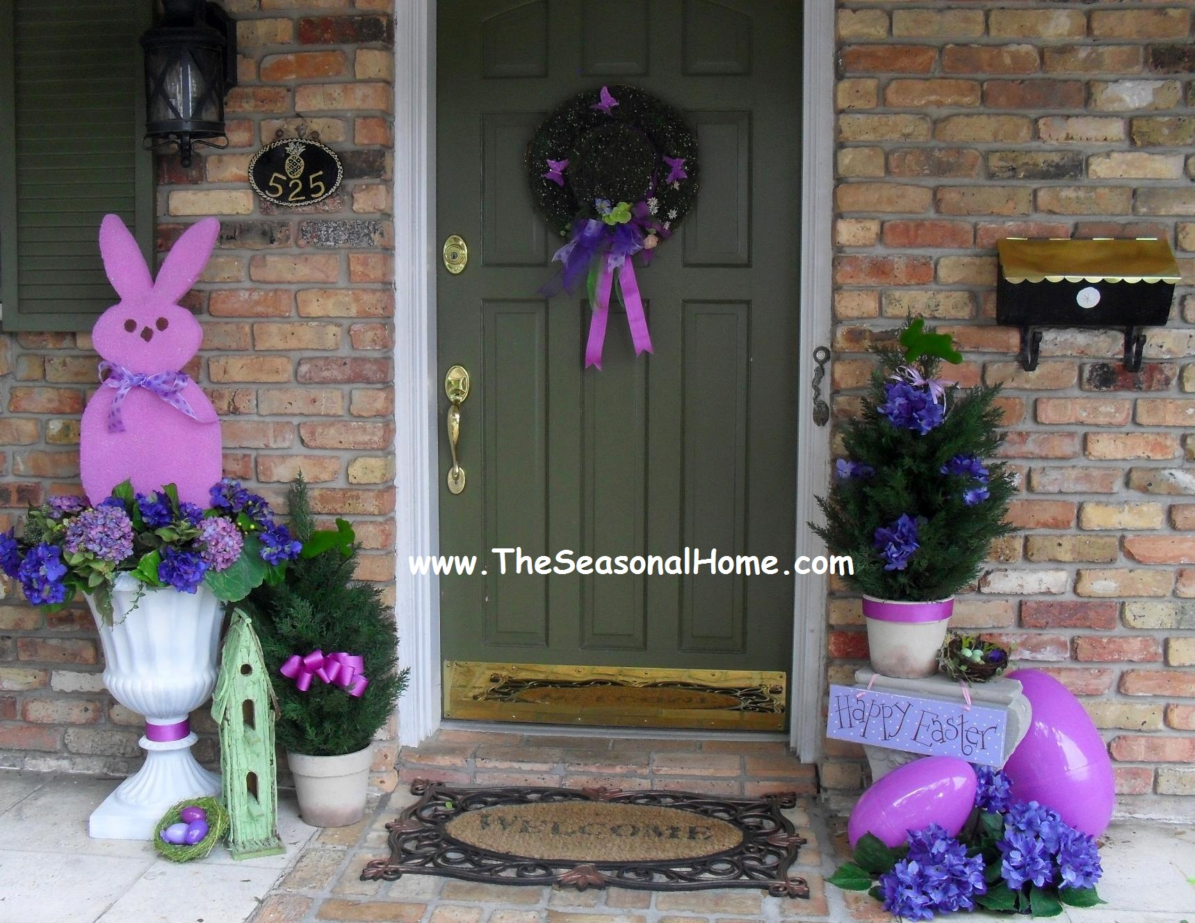 Guest Post Make Large Peep Topiaries From The Seasonal