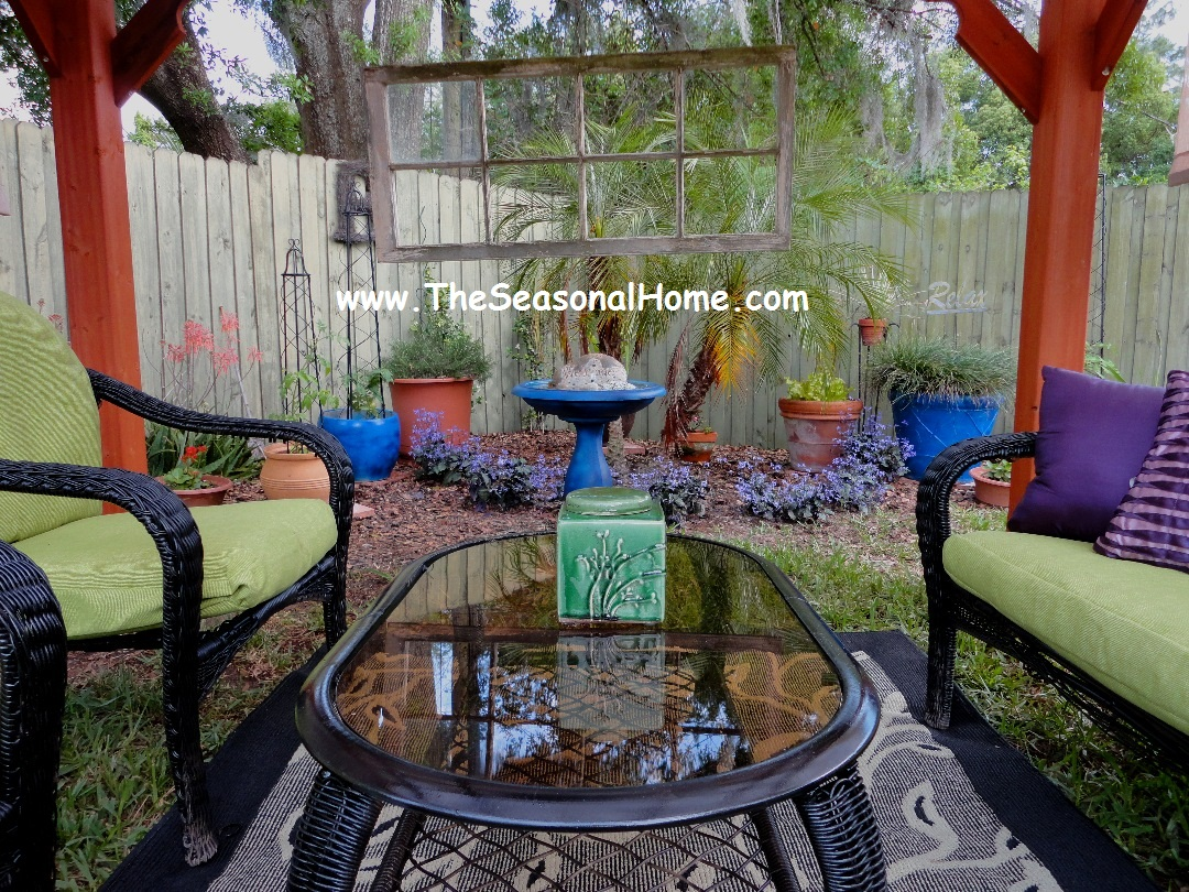 Mother's Day Brunch in a Up-cycled Garden | The Seasonal Home