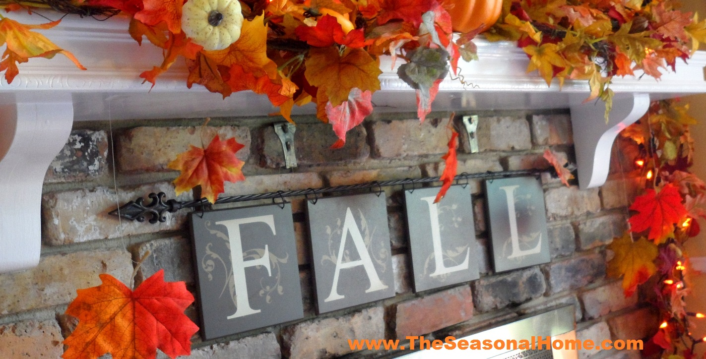 Fall halloween thanksgiving 3 looks in 5 minutes or for 5 minute halloween decorations