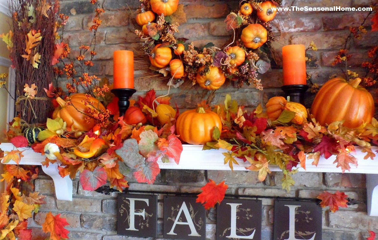 Fall halloween thanksgiving 3 looks in 5 minutes or less the seasonal home - Thanksgiving decorations ...