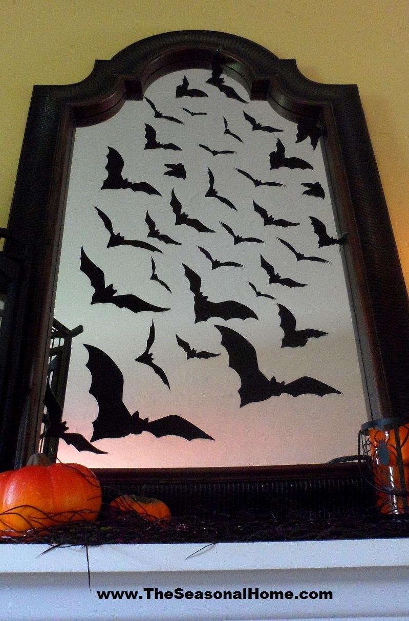 spooky halloween fireplace the seasonal home